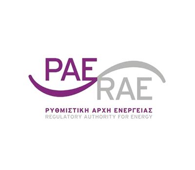 ΡΑΕ - RAE logo - Thelcon