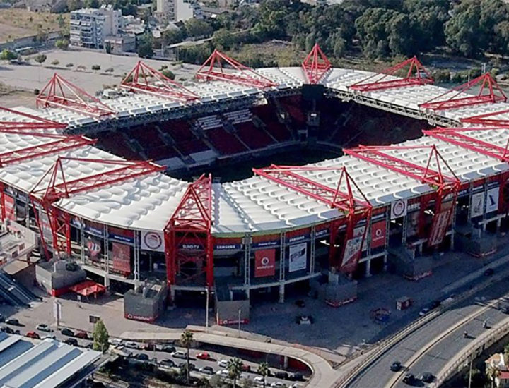 ΠΑΕ Ολυμπιακός Γήπεδο Καραϊσκάκη- Olympiacos FC Karaiskakis Stadium- Thelcon