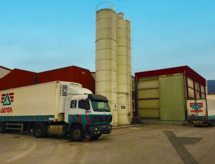 Εγκαταστάσεις Ομίλου ΔΕΛΤΑ (Λαμία) - DELTA Group Facilities (Lamia) - Thelcon